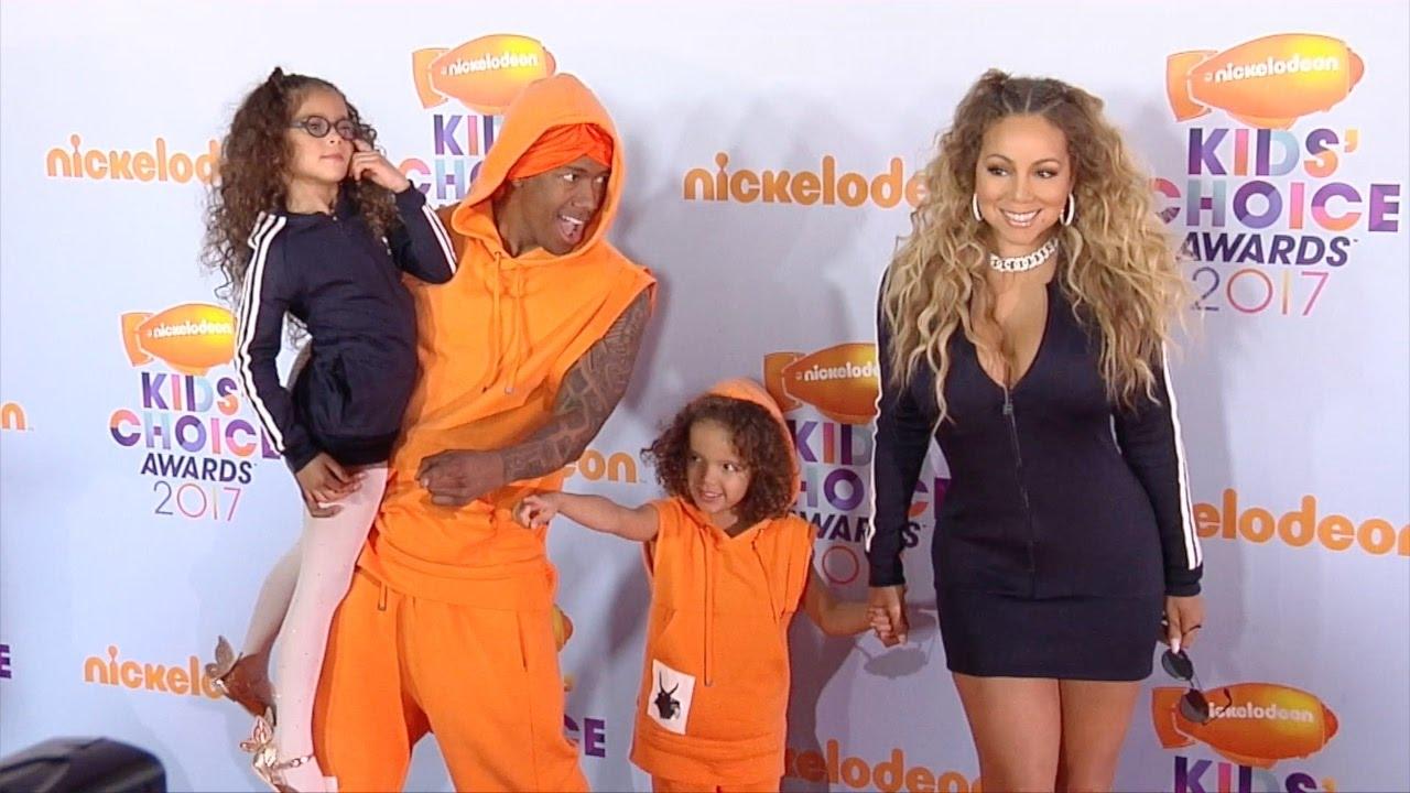 Mariah Carey and Nick Cannon Reunite! 2017 Kids\' Choice Awards ...