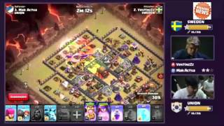 Korean Clash LIVE | UNION VS SWEDEN Round 6-8| Clash Of Clans Live 24/Sep/2015 HD