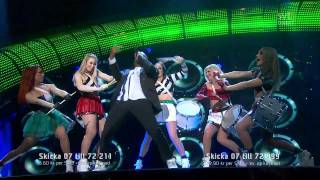 7. Swingfly - Me And My Drum (Melodifestivalen 2011 Final) 720p HD