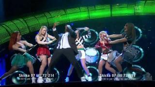 7. Swingfly - Me And My Drum (Melodifestivalen 2011 Final) 720p HD