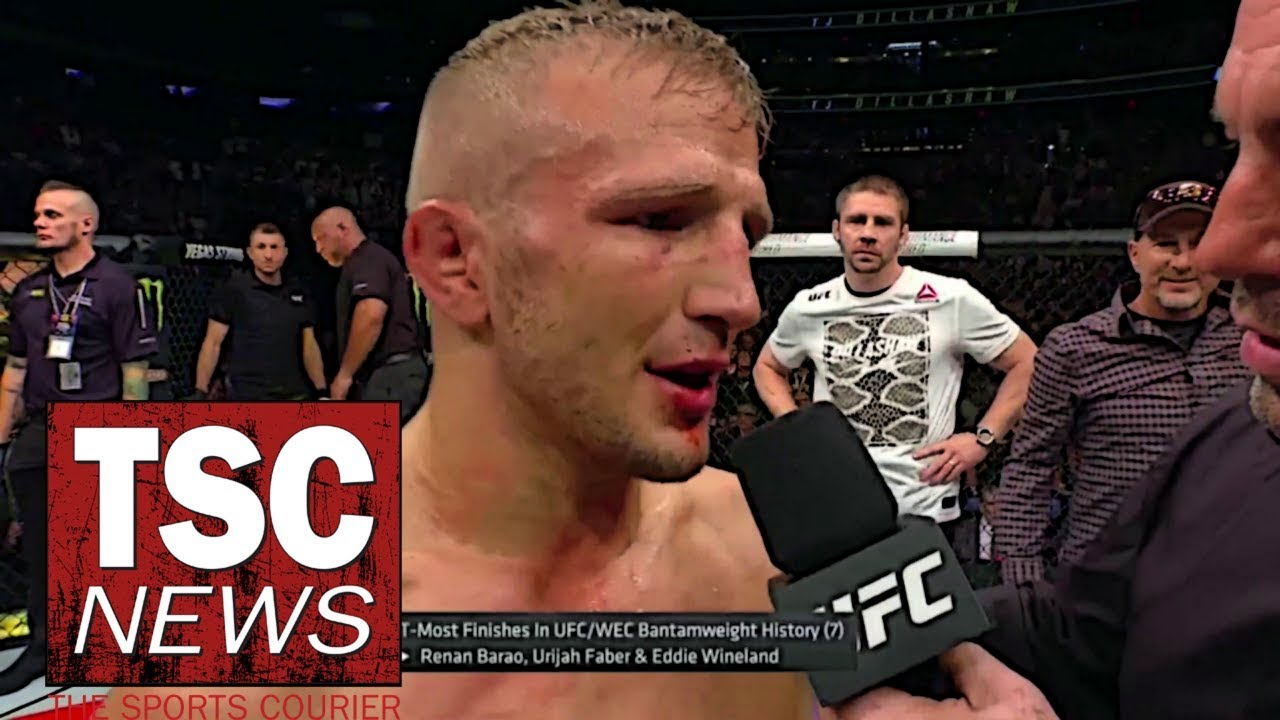 What TJ Dillashaw's 2-year PED suspension means for UFC