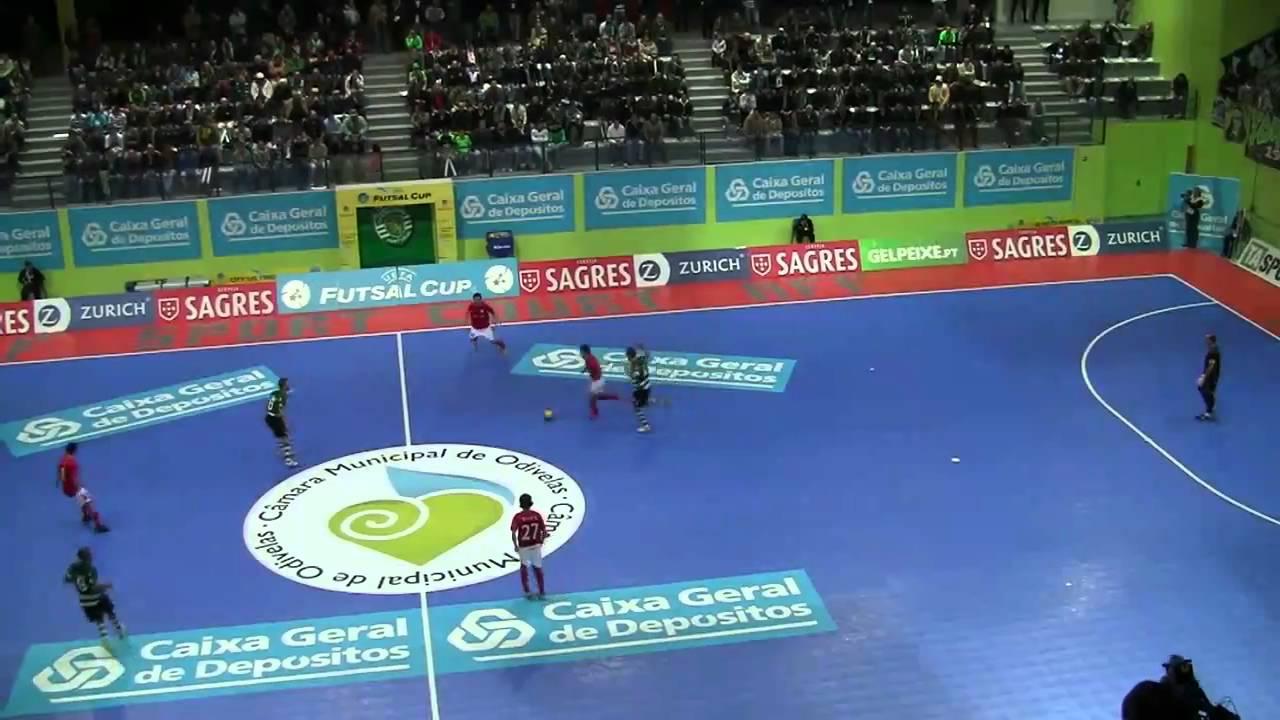 Futsal :: Uefa Ronda Elite - 1Jogo :: Sporting - 4 x Chrudim (Rep. Checa) - 4 de 2010/2011