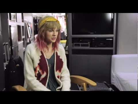 I Knew You Were Trouble. Behind-The-Scenes 1