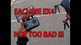 Eachine EX4 - First flight and Range Test