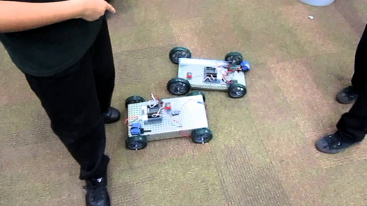 Vex Robotics Car Build Race Youtube