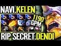 Na'Vi Alchemist 5 Aghanim Buff RIP Secret RaidBoss Meta 7.19 Dota 2 gameplay