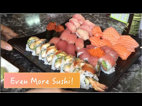 Kelly in Kalifornia: All You Can Eat Sushi!