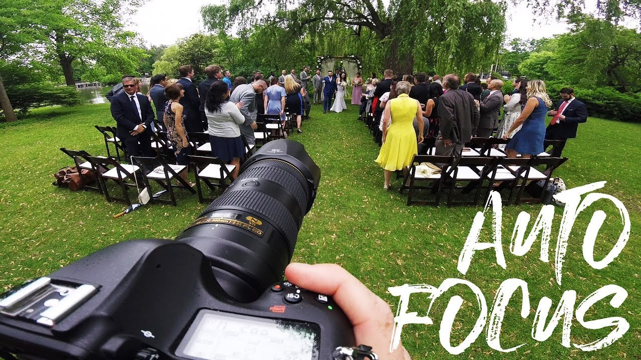 My Wedding Photography Auto Focus Settings Day 10 Of 30
