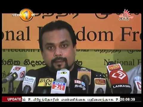 News1st Prime time news 8pm Shakthi Tv 31st March 2016