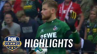 Monchengladbach vs. FC Koln | 2017-18 Bundesliga Highlights