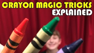 Magic Tricks with Crayons