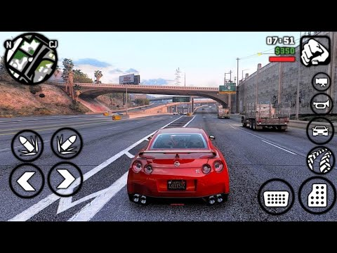 TOP 5 GAMES LIKE GTA V FOR ANDROID | HD |