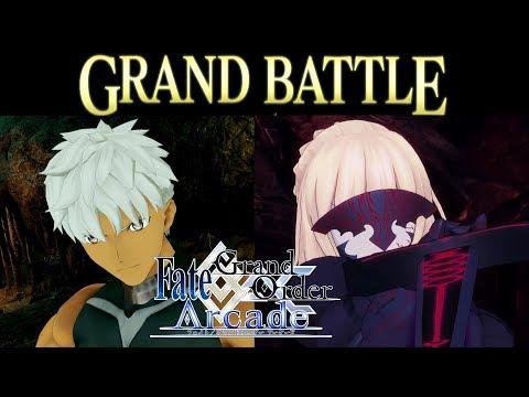 【Fate/Grand Order Arcade】特異点F 炎上汚染都市 冬木【Mash】【マシュ】【Boss battle】【FGOAC】【fgoアーケード】