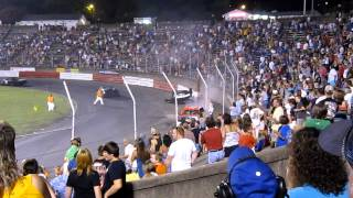 Bowman Gray 7-28-12   Willie Wall goes upside down