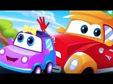 Car Cartoons for Children | Street Vehicle Videos for Babies | Nursery Rhymes