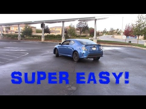 Easy Way To Drift Front Wheel Drive Car
