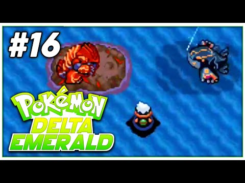 Pokemon Delta Emerald Walkthrough | Episode - 16 | PRIMAL GROUDON And PRIMAL KYOGRE!
