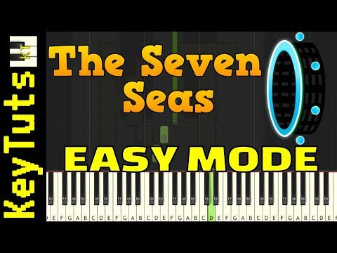Learn To Play Seven Seas From Geometry Dash - Easy Mode
