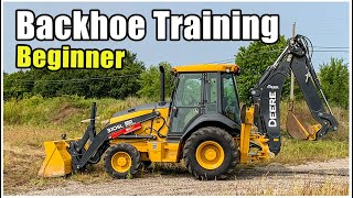 How to Operate a Backhoe | Tractor Loader Backhoe Training