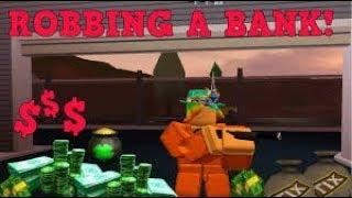 ROBBING BANK IN JAILBREAK IN ROBLOX URDU/HINDI