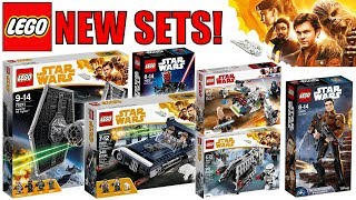 NEW LEGO Star Wars HAN SOLO MOVIE Set Pictures! | 75211 Tie Fighter, 75209 Han