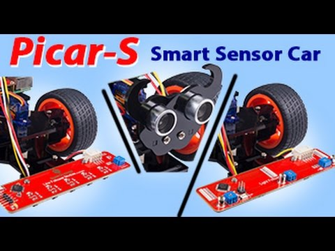 a6bcd3f20f5af PiCar-S Raspberry Pi Sensors Robot Car with Obstacle Avoidance ...