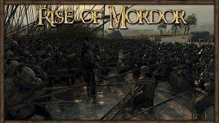 Dwarves of Erebor Attack The Fighting Uruk-hai at the River  - Rise of Mordor
