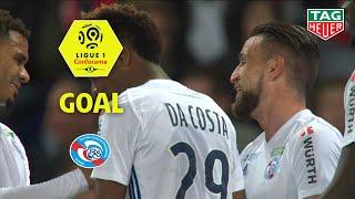 Goal Anthony GONCALVES (38') / Paris Saint-Germain-RC Strasbourg Alsace (2-2) / 2018-19