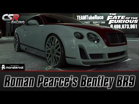 CSR Racing 2: Roman Pearce's Bentley BR9 | The Fate of the Furious [Recruit Roman]