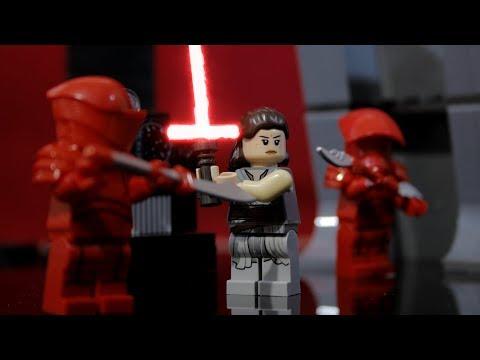 Lego Star Wars Snokes Throne Room scene Stop motion : Part 2