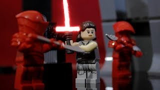 Lego Star Wars Snokes Throne Room scene Stop motion : Part 2