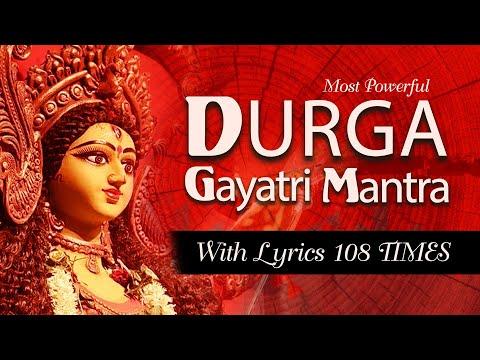 most-powerful-durga-gayatri-mantra--- -durga-gayatri-mantra-with-lyrics- -om-kaatyaayanaaya-vidmahe