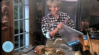 Circular Sub Sandwich - Throwback Thursday - Martha Stewart
