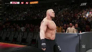 WWE 2K18 : 2.0 Titantron Movie Block Lesner