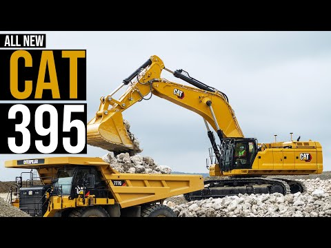 Cat Unveils New 395 Excavator: Bigger, Stronger, Faster 390F Replacement