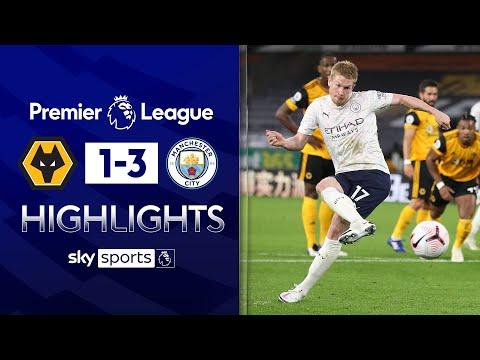 De Bruyne dazzles as City start strong | Wolves 1-3 Man City | Premier League Highlights