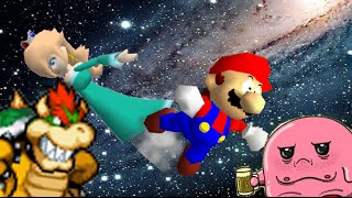 SM64 bloopers: Shoot to the Observatory in the sky