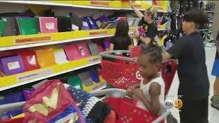 Back To School Shopping Rush
