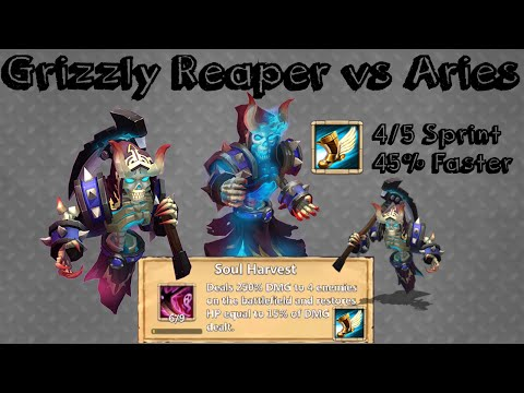 #098 Grizzly Reaper 4/5 Sprint Vs Aries???