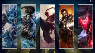 Wombo Combo: Malphite + Yasuo + Lee Sin + Graves + Thresh | League Of Legends