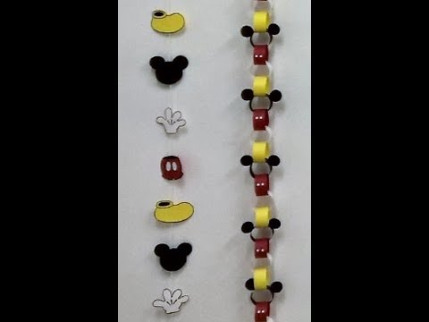 guirnaldas de mickey mouse para decorar fiestas de cumpleaos mickey mouse garlands youtube