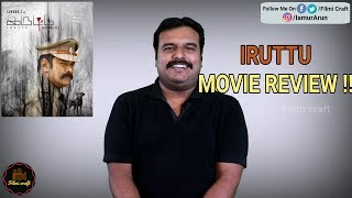 Iruttu (2019) Movie Review by Filmi craft Arun   Sundar C   V.Z.Durai