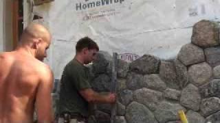 خلق البرقوق حجر البناء