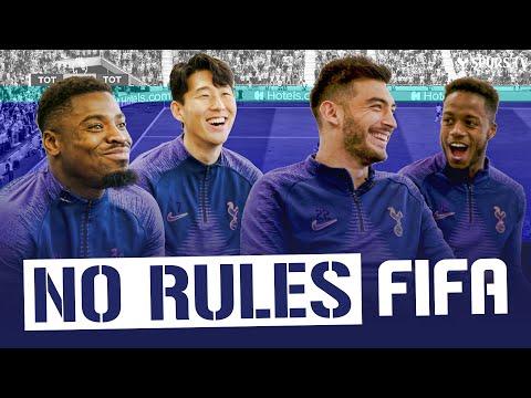 NO RULES FIFA 20 | Heung-min Son & Serge Aurier v Paulo Gazzaniga & Ryan Sessegnon