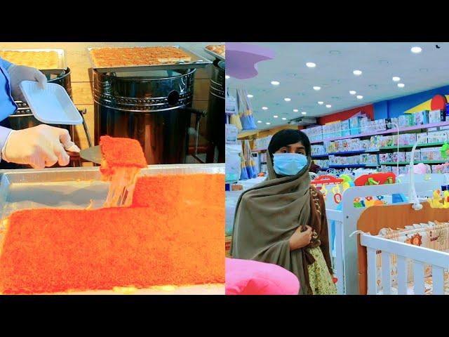 Outing VLOG /Maternity Shopping/ Kunafa Sweet/ Ayeshas  Kitchen