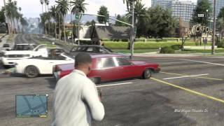 مراجعة لعبة حرامي السيارات 5   grand theft auto V