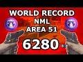 World Record Area 51 No Man's Land 6280  w/mega's