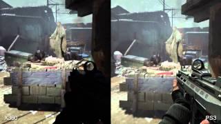 """F.E.A.R. 3 """"PS3 vs XBOX 360"""" Graphics Comparison ((SPLIT SCREEN))"""