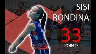 PSL AFC 2019 Battle for Bronze Sisi Rondina vs Foton