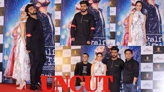 uncut trailer launch half girlfriend   shraddha kapoor   arjun kapoor